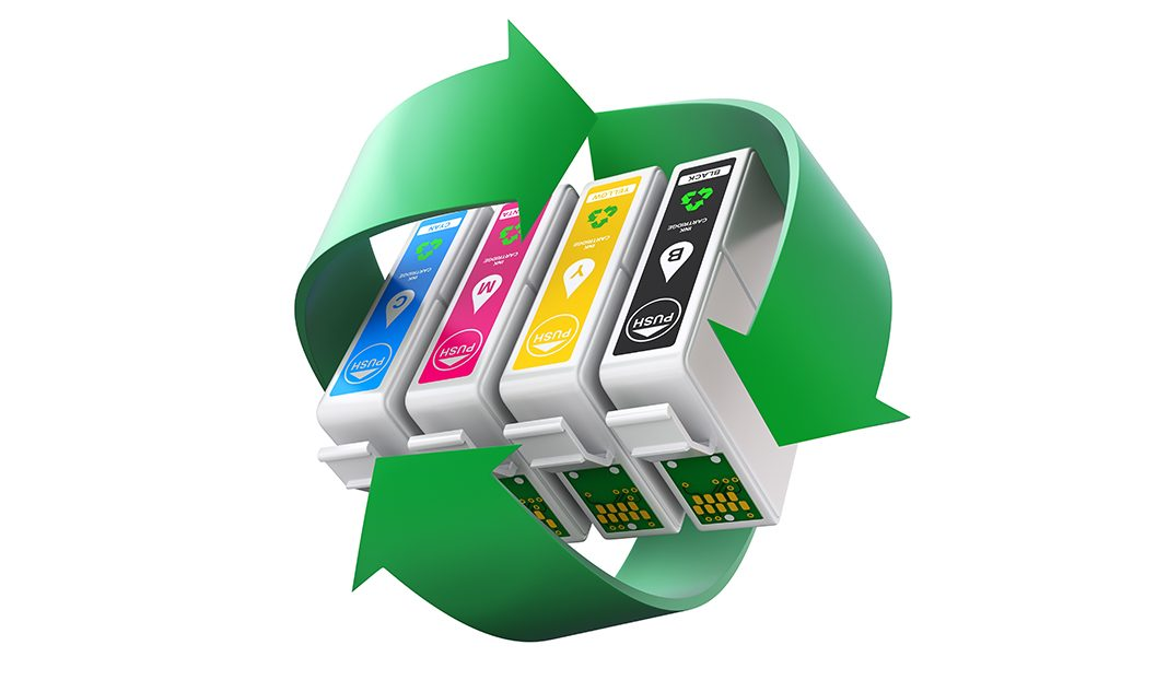 Easy and convenient way to recycle your Printer Cartridges