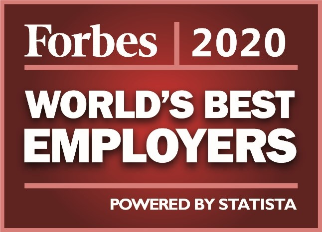 Forbes employer of the year 2020